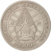 Indonesia, 100 Rupiah, 1978, EF(40-45), Copper-nickel, KM:42