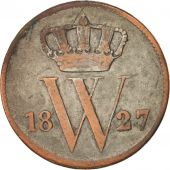 Pays-Bas, William I, Cent, 1827, Brussels, TB, Copper, KM:47
