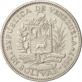 Venezuela, Bolivar, 1967, British Royal Mint, SUP, Nickel, KM:42