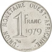 West African States, Franc, 1979, Paris, SUP, Steel, KM:8