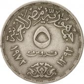 Égypte, 5 Piastres, 1972, TTB, Copper-nickel, KM:A427
