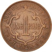 EAST AFRICA, Victoria, Pice, 1898, EF(40-45), Bronze, KM:1