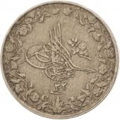 Égypte, Abdul Hamid II, 1/10 Qirsh, 1906, Misr, TTB, Copper-nickel, KM:289
