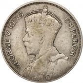 New Zealand, George V, 1/2 Crown, 1933, EF(40-45), Silver, KM:5