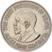 Kenya, Shilling, 1971, British Royal Mint, EF(40-45), Copper-nickel, KM:14