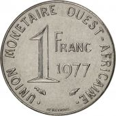 West African States, Franc, 1977, Paris, TTB, Steel, KM:8