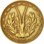 West African States, 10 Francs, 1971, TTB, Aluminum-Nickel-Bronze, KM:1a