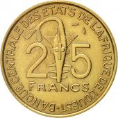 West African States, 25 Francs, 1979, Paris, SUP, Aluminum-Bronze, KM:5