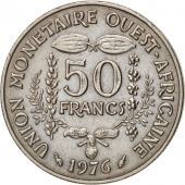 West African States, 50 Francs, 1976, Paris, TTB+, Copper-nickel, KM:6
