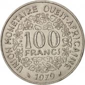 West African States, 100 Francs, 1979, Paris, SUP, Nickel, KM:4