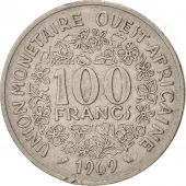 West African States, 100 Francs, 1969, Paris, TTB, Nickel, KM:4