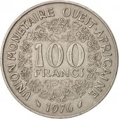 West African States, 100 Francs, 1976, Paris, TTB, Nickel, KM:4