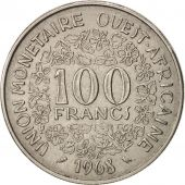 West African States, 100 Francs, 1968, Paris, TTB, Nickel, KM:4