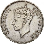 EAST AFRICA, George VI, Shilling, 1948, EF(40-45), Copper-nickel, KM:31