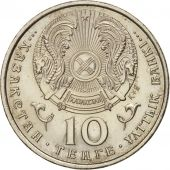 Kazakhstan, 10 Tenge, 1993, SPL, Copper-nickel, KM:10