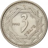 Kazakhstan, 3 Tenge, 1993, SPL, Copper-nickel, KM:8