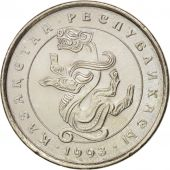 Kazakhstan, 5 Tenge, 1993, SPL, Copper-nickel, KM:9