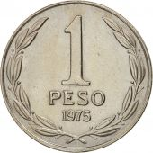 Chile, Peso, 1975, SUP, Copper-nickel, KM:207