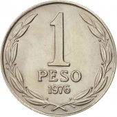 Chile, Peso, 1976, SUP, Copper-nickel, KM:208