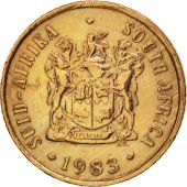 South Africa, Cent, 1983, EF(40-45), Bronze, KM:82