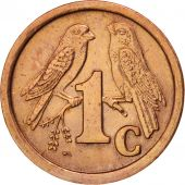 South Africa, Cent, 1991, AU(55-58), Copper Plated Steel, KM:132