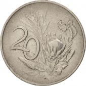 South Africa, 20 Cents, 1965, EF(40-45), Nickel, KM:69.2