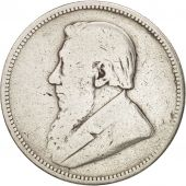 South Africa, 2 Shillings, 1894, VF(20-25), Silver, KM:6