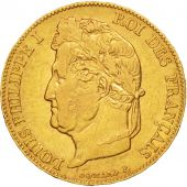 France, Louis-Philippe, 20 Francs, 1841, Lille, EF(40-45), Gold, KM:750.5