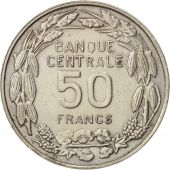 Cameroun, 50 Francs, 1960, Paris, SUP, Copper-nickel, KM:13