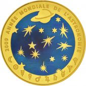France, Monnaie de Paris, 200 Euro Astronomie, 2009, FDC, Or, KM:1624