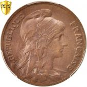 France, Dupuis, 10 Centimes, 1906, Paris, PCGS, MS62BN, SUP+, Bronze, KM:843