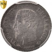 France, Napoleon III, 20 Centimes, 1860, Paris, PCGS, MS62, SUP+, KM:778.1