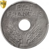 France, État français, 20 Centimes, 1944, Paris, PCGS, MS62, SUP+, Zinc,KM:900.2