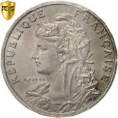 France, Patey, 25 Centimes, 1904, Paris, PCGS, MS66, Nickel, KM:856