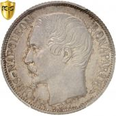 France, Louis-Napol�on Bonaparte, Franc, 1852, Paris, PCGS, Genuine, AU, KM:772