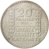 France, Turin, 20 Francs, 1933, Paris, PCGS, MS64, SPL+, Argent, KM:879