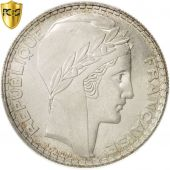 France, Turin, 20 Francs, 1938, Paris, PCGS, MS64, Silver, KM:879