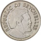 Seychelles, 25 Cents, 1976, British Royal Mint, SUP, Copper-nickel, KM:24