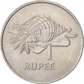 Seychelles, Rupee, 1977, British Royal Mint, EF(40-45), Copper-nickel, KM:35