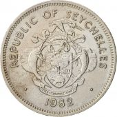 Seychelles, Rupee, 1982, British Royal Mint, AU(50-53), Copper-nickel, KM:50.1