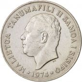 Samoa, 20 Sene, 1974, AU(50-53), Copper-nickel, KM:16