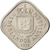 Netherlands Antilles, Juliana, 5 Cents, 1971, SUP, Copper-nickel, KM:13