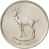 United Arab Emirates, 25 Fils, 2007, British Royal Mint, SPL, KM:4