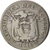 Équateur, 20 Centavos, 1946, TB, Copper-nickel, KM:77.1b