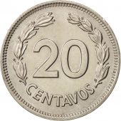 Équateur, 20 Centavos, 1974, SPL, Copper-nickel, KM:77.2