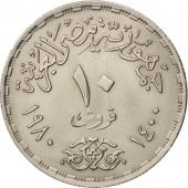 Égypte, 10 Piastres, 1980, SUP, Copper-nickel, KM:506