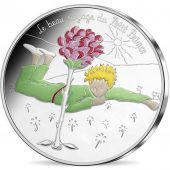 France, Monnaie de Paris, 50 Euro, Petit Prince, 2016, Silver, Color