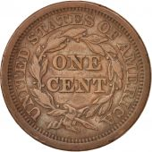 États-Unis, Braided Hair Cent, 1851, U.S. Mint, Philadelphia, TTB, KM:67