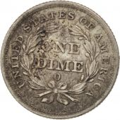États-Unis, Seated Liberty Dime, 1838, New Orleans, TB+, KM:61