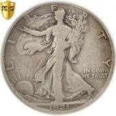 États-Unis, Walking Liberty Half Dollar, 1921, Denver, PCGS, B+, KM:142